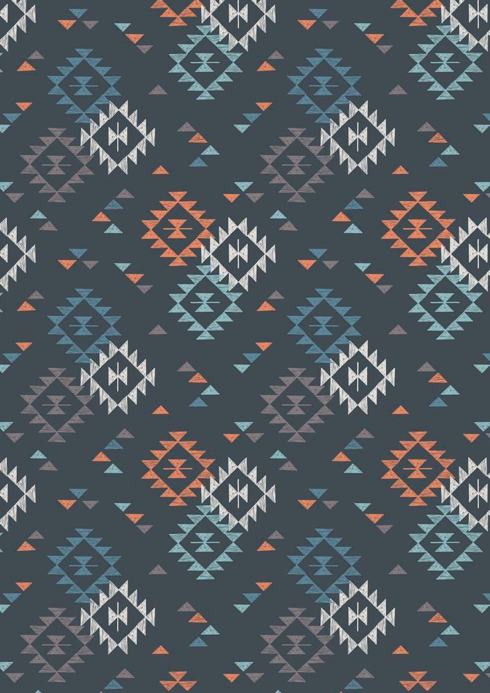 A173.3 - Triangle Print On Night-time