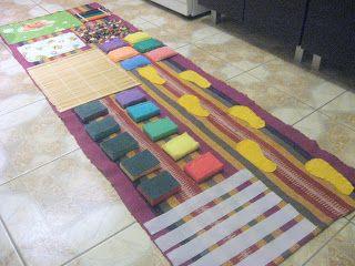 Штучки ручками: Массажный коврик для малышей и не только!