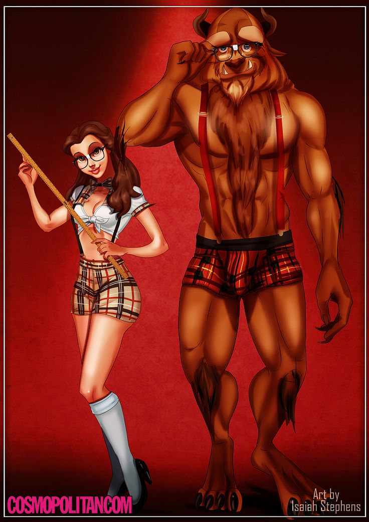 "If Disney Princesses Wore ""Sexy"" Halloween Costumes"