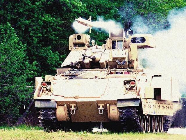 The Bradley Fighting Vehicle (lots of photos)