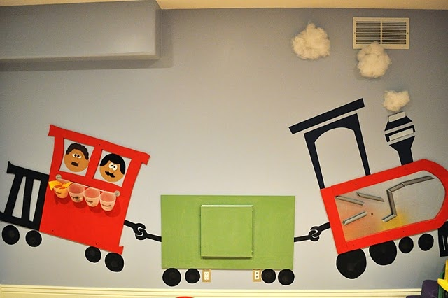 Interactive Wall Train