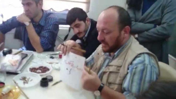 Hattat Mahmut Şahin Eskişehir dersinden part 3