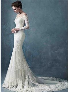 ericdress.com offers high quality Ericdress Jewel Long Sleeves Mermaid Wedding Dress Wedding Dresses 2015 unit price of $ 245.69.
