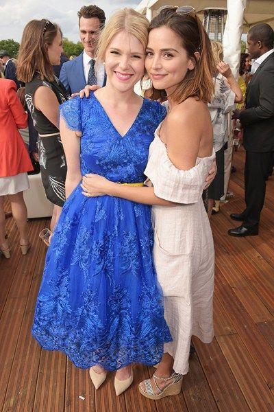 Hannah Arterton and Jenna Coleman