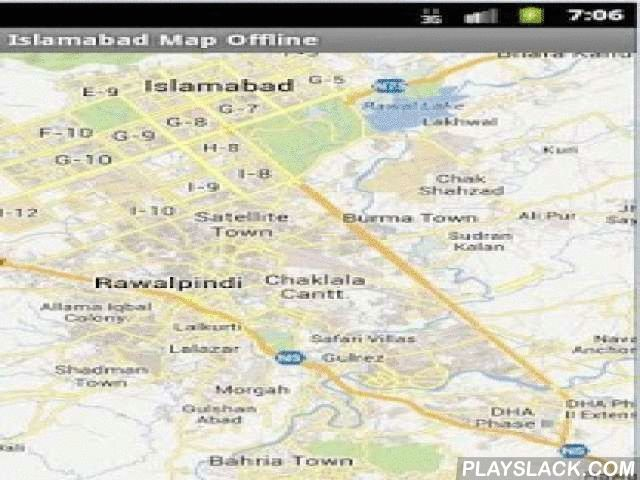 Islamabad Map Offline  Android App - playslack.com , This app gives your favorite maps in offline mode.Yes. for Islamabad and Rawalpindi City. you can use it without having to switch on your data connectivity.for People on roaming, it's a great relief. Before visiting the city you can download this app and familiarize yourself about the city.You can use GPS mode from the MENU to find your location on the map (blue dot)You can search for places from among thousands of Points of interest and…