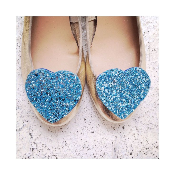 Aqua Shoe Clips, glitter heart shoe clips, turquoise shoe clips by PollyMcGeary on Etsy https://www.etsy.com/listing/165765129/aqua-shoe-clips-glitter-heart-shoe-clips