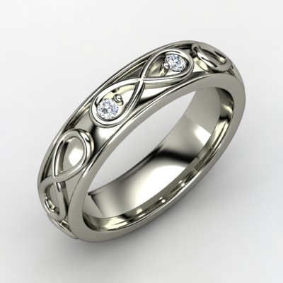 Infinity: Infinite, Wedding Ring, Idea, Style, Love Rings, Jewelry, White Gold Rings, Sterling Silver Rings, Infinity Symbol