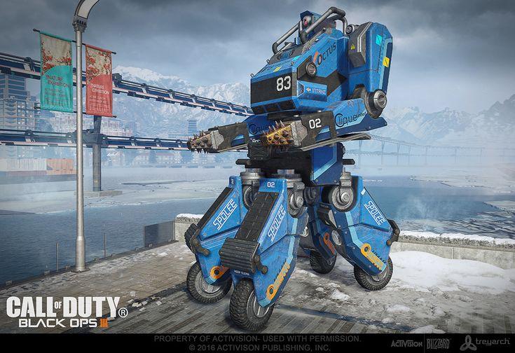 ArtStation - Call Of Duty: Black Ops III: Battle Bot!, Trevor Crandall