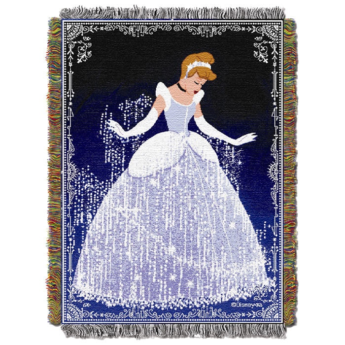 Disney Princess Cinderella Sparkles Throw