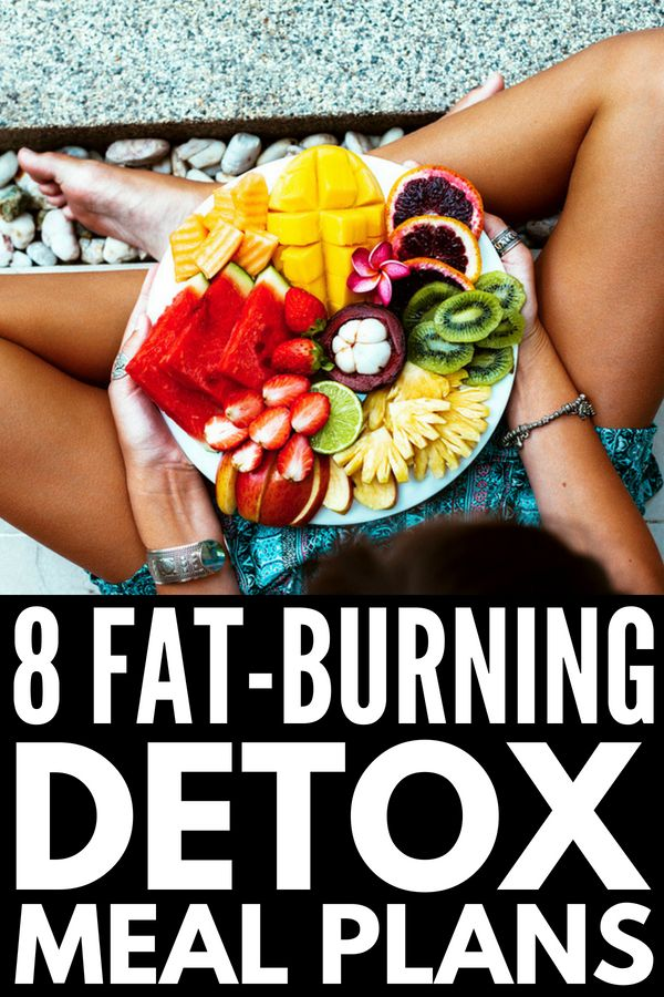 Detox 101: 7-Day Cleanse for Weight Loss and a Flat Belly