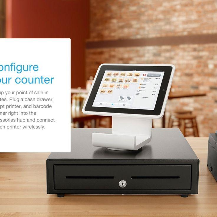 Square Register Stand Cash Drawer