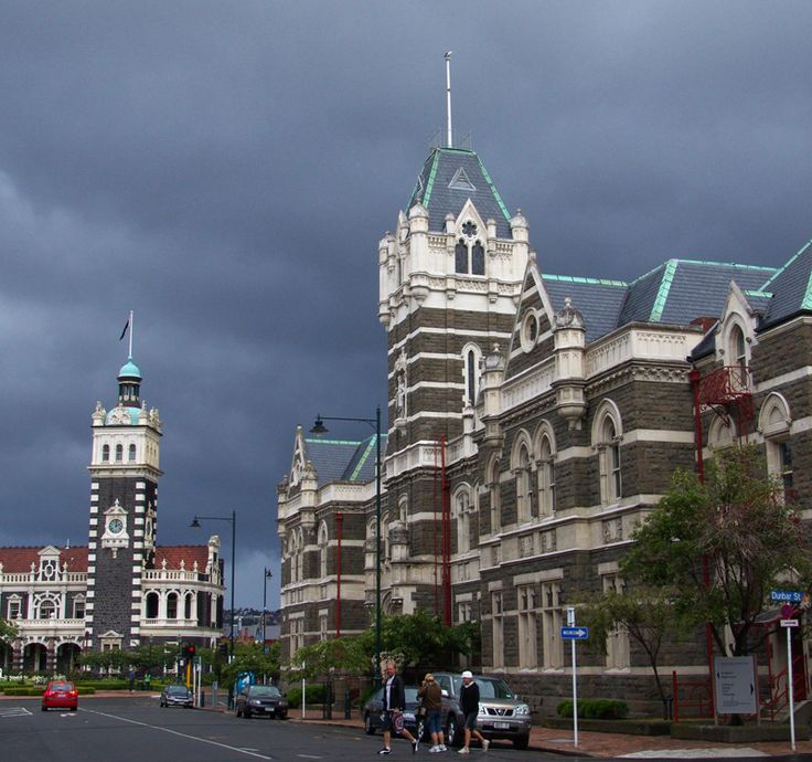 Steeped in Tradition, Dunedin, Otago, New Zealand
