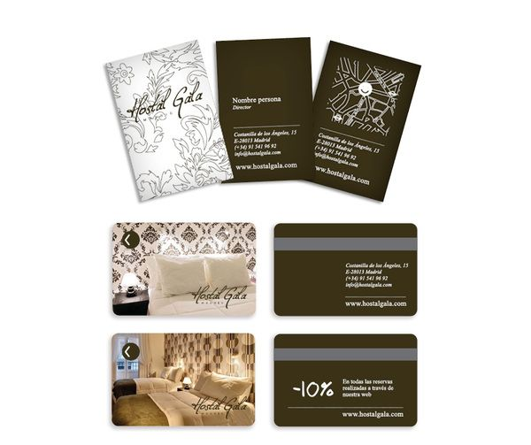 Hotel Business Card Design 20