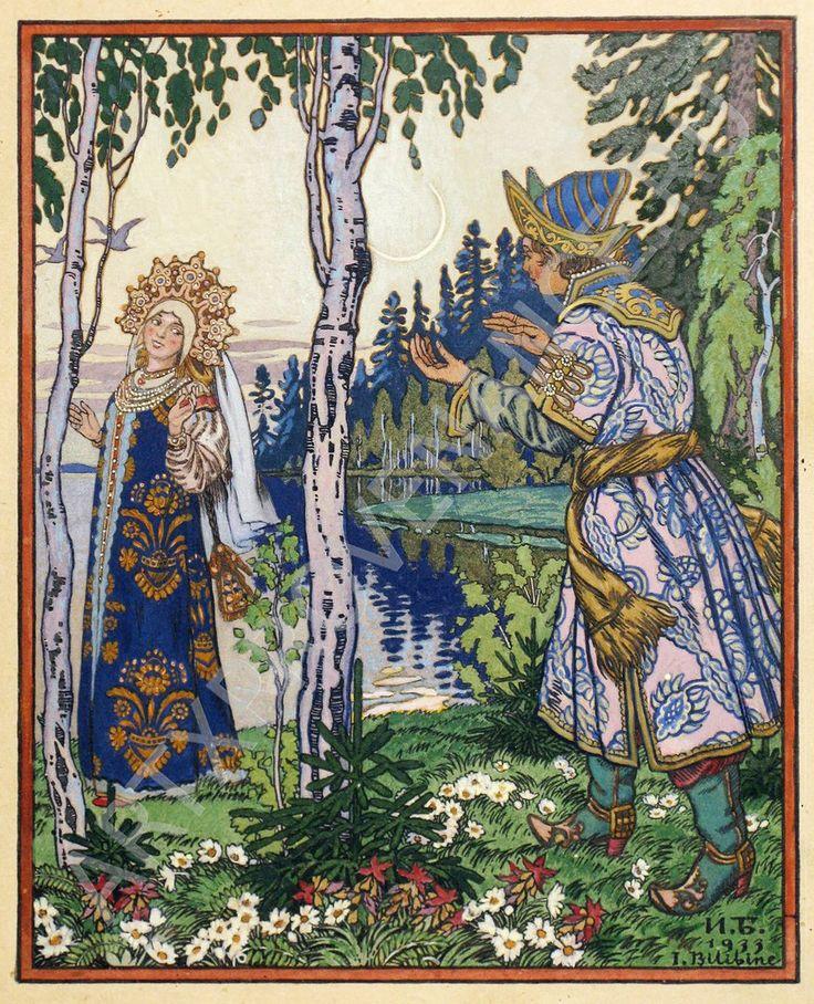 станок русские сказки с иллюстрациями билибина гравировка