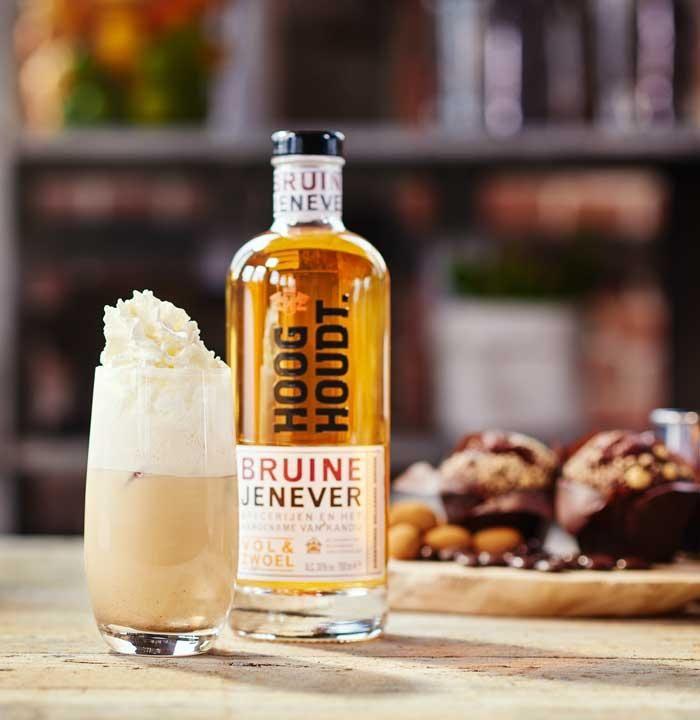 Dutch Iced Coffee met Hooghoudt Bruine Jenever  Familie Distilleerderij Hooghoudt
