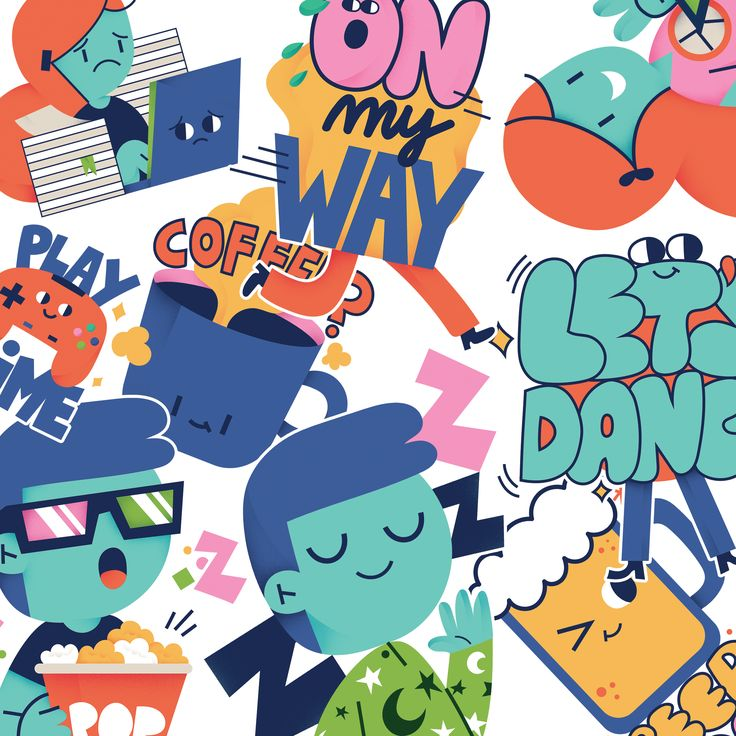 """Check out this Behance project """"Fonzy Nils X Emogi"""