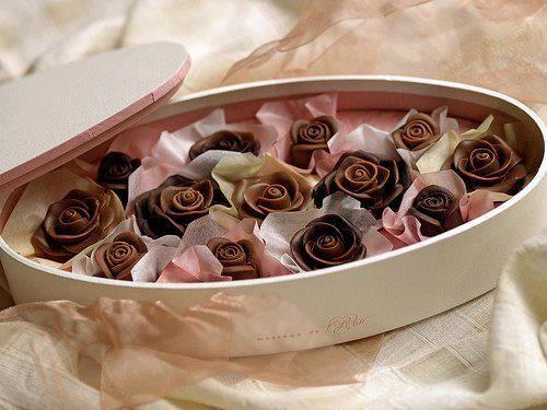 Rose Shaped Chocolates