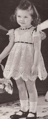 78  images about Baby &amp- Toddler Crochet - Dresses on Pinterest ...