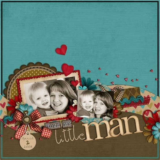 #papercraft #scrapbook #layout.:
