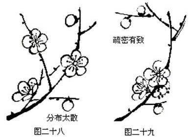 技术贴 梅花的各种画法 -- 伍佰艺书画门户 -- 传送门