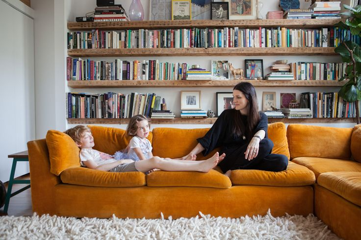 Shaggy rug! Read our interview and pictures of Skye Parrott, a photographer, curator, and mother of two children.