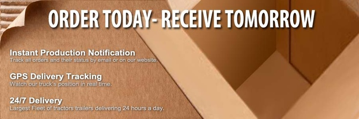 IC Industries: Florida's quickest box manufacturer Totally recyclable and made from renewable resources – corrugated boxes by fastest manufacturer in Broward. Order today – receive tomorrow from http://www.icind.com
