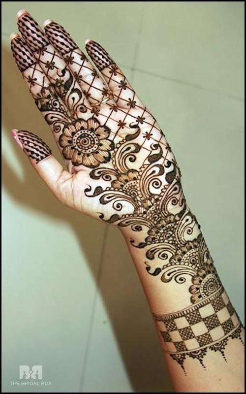 Arabic Bridal Mehndi Designs For Hands: 34 Trending Styles ...