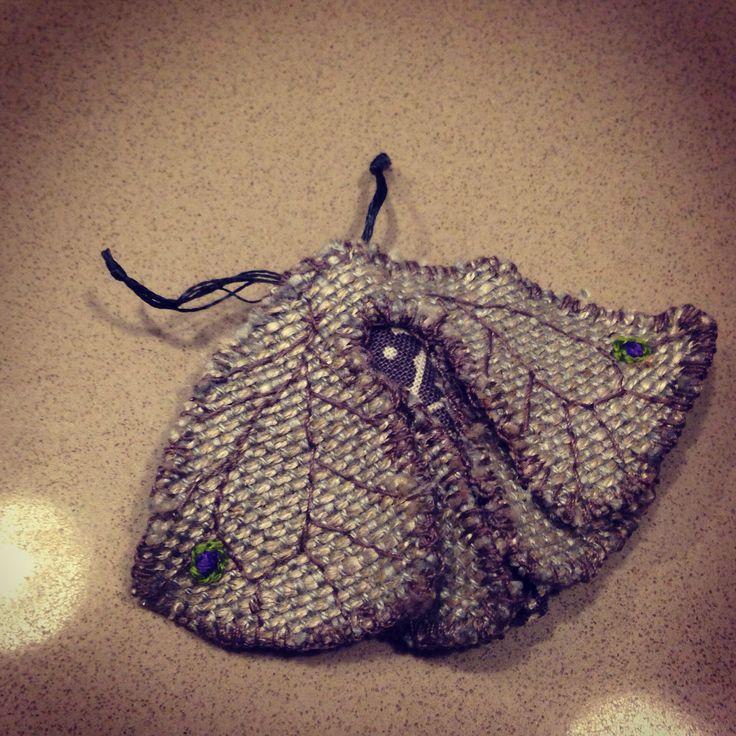 Fabric moth.