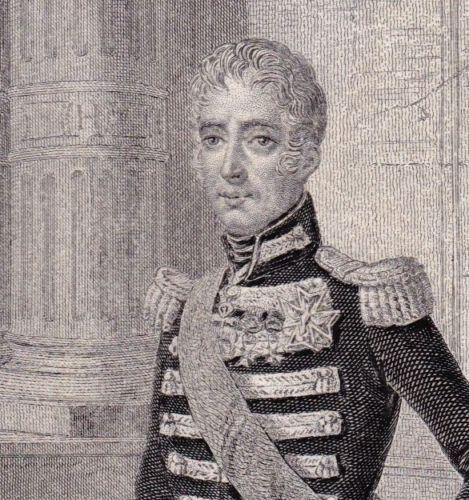 Portrait-XIXe-Charles-X-Roi-de-France-Restauration-Bourbon-1850