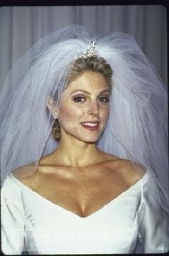 marla maples wedding dress