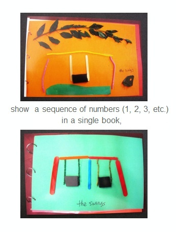 Tactile journals can be a tangible way for students to practice counting skills and number concepts.