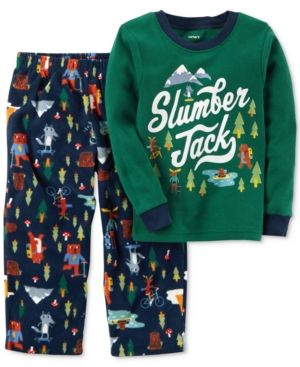 358792413 Carter s 2-Pc. Slumber Jack Pajama Set