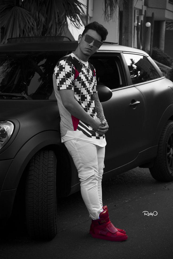 #photoshooting #behindthescenes #ComoTuNinguna con el cantante Smayv