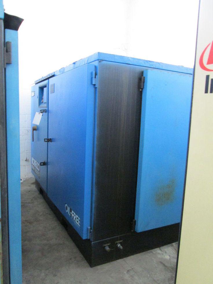 2007 KOBLECO 200 H.P. OIL-FREE AIR COMPRESSOR MODEL KNW1-GX #2007KOBLECO