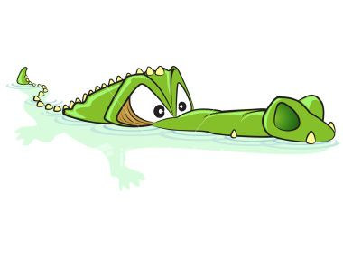 aligator cartoon | What have I done to deserve this ...