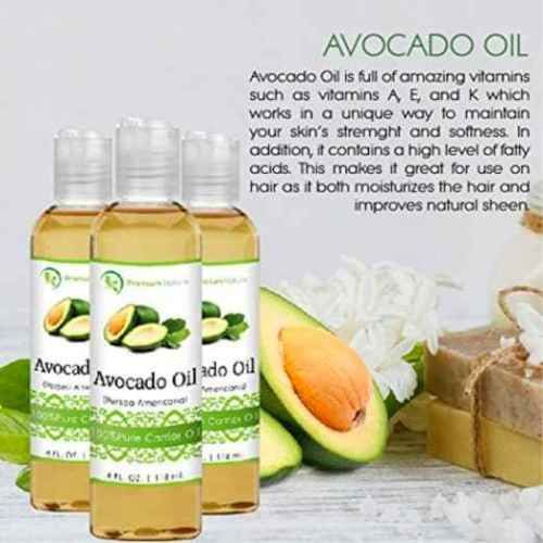 Avocado-Oil-4-oz-Rich-In-Protein-Amino-Acids-Vitamins-A-D-E-Prevents-Agin