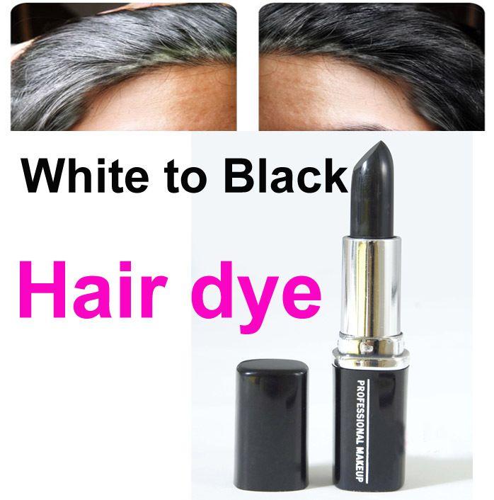 Tintura de cabelo temporária cabelo cor de giz preto marca lápis pintura de tinta giz pastel de cabelo creme de cabelo creme mulheres de alishoppbrasil
