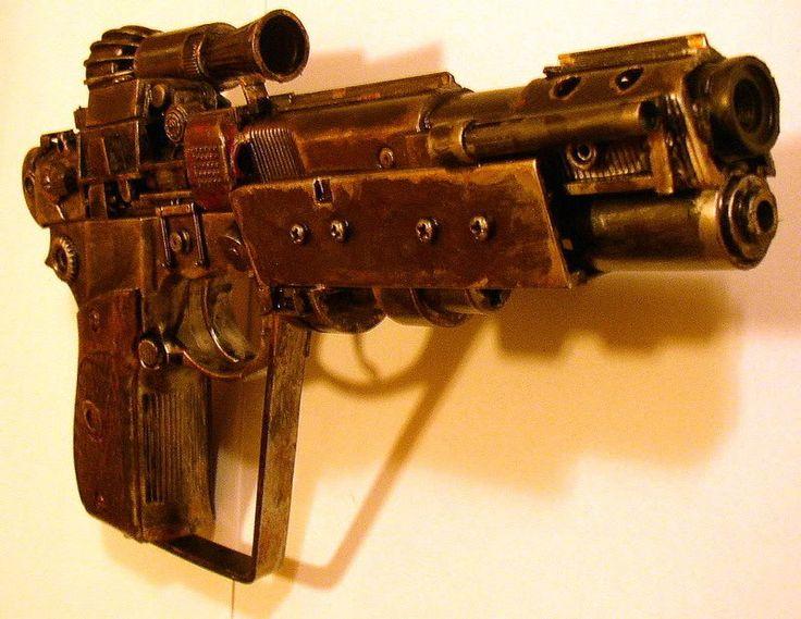 how to make a star wars blaster pistol