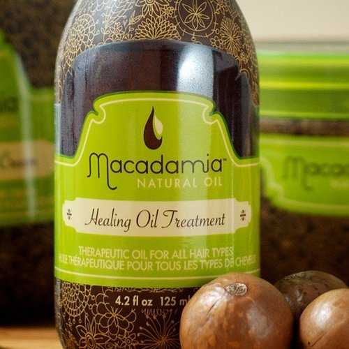 macadamia oil - for hair is best