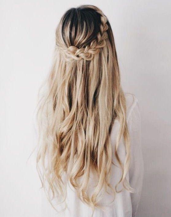 10 Peinados semi recogidos que tu cabello rebelde amará