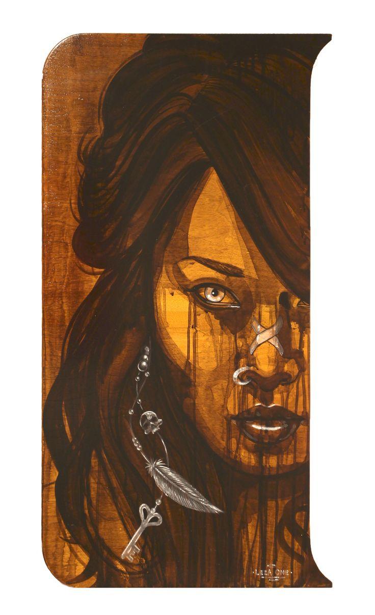 Dark Angel - Leza One - Urban Muses - @ Evartspace Gallery