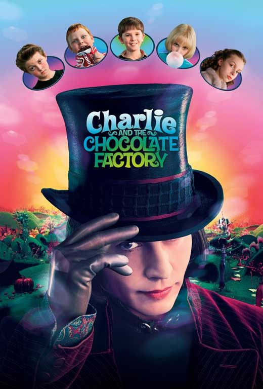 Charlie And The Chocolate Factory (2005) - Johnny Depp DVD