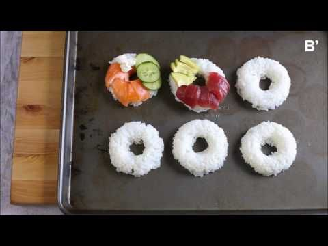 Sushi Donuts: A Hole New Take On Your Favorite Foods [Video Recipe] — Bloglovin'—the Edit