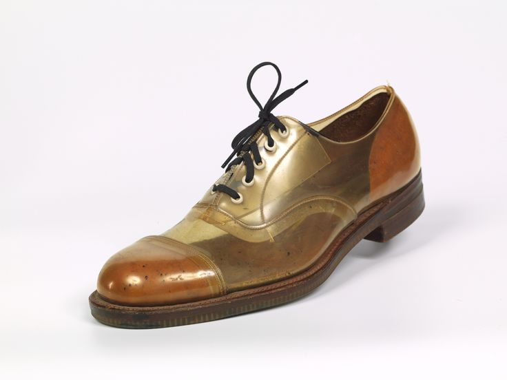 This shoe was chosen from our Shoe Collection archive by designer Atalanta Weller to feature in the exhibition: My Favourite Shoes at Westfield.