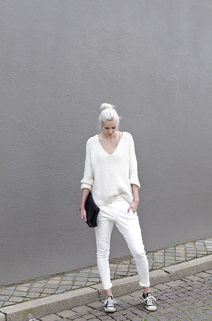 almost all white. Amsterdam. #ConnectedToFashion