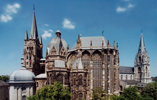 The Aachen cathedral in Germany