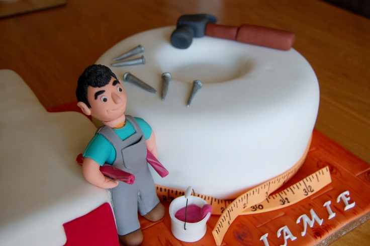 40th Birthday Cake For Diy Dad Www Tiersofhappiness Net