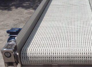 Conveyor modular Belt model ModuBELT brand PlasNEC industrial