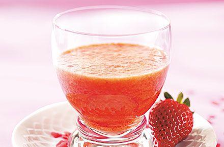 Erdbeer-Cocktail Süßes Geheimnis - Schrot und Korn - Das Kundenmagazin für den Naturkosthandel