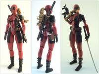Lady Deadpool Aka Wanda Wilson (Marvel Legends) Custom Action Figure